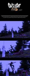 #1 page comic Gias Light By Alvenon by alvenon