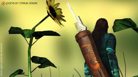 Gias Light #6 Rahazshi Sword by alvenon