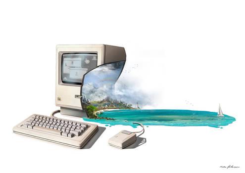 Steve Jobs death / 1976 - 2011 by Madspeitersen