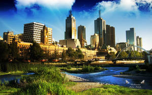 Melbourne by AndreaAndrade