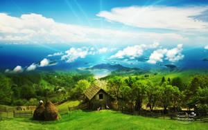 Heavens Farm by AndreaAndrade