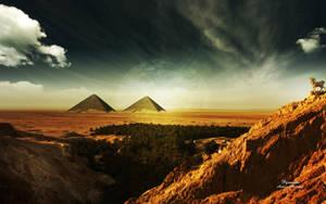 Pyramids by AndreaAndrade