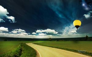 Balloons Road by AndreaAndrade
