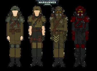 Imperial Guard  -  Warhammer 40K by Milosh--Andrich