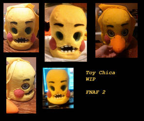 Toy Chica- WIP by yukisama23
