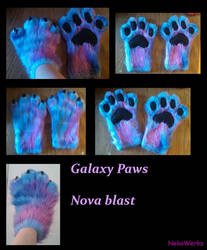 Galaxy Paws by yukisama23