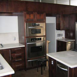 Small kitchen cabinets idea and tips by PineTreeConstruction