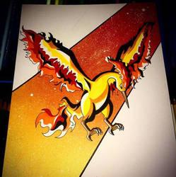 Pokemon - Moltres by Tinizel