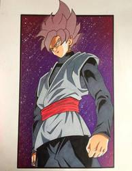 Dragonball Super - Goku Black (SSJ Rose) by Tinizel
