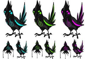 Squiby: Darkatiel by AlkseeyaKC