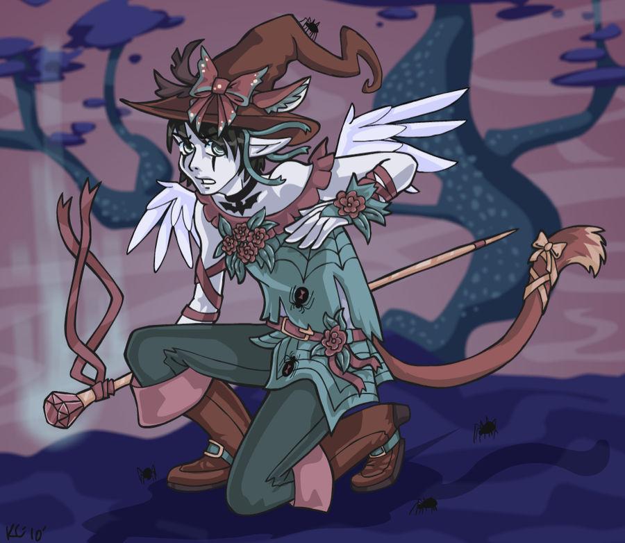 Mikael Witch Boy by AlkseeyaKC