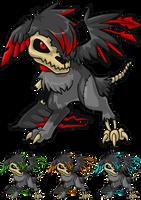 Zombie Fuzwen by AlkseeyaKC
