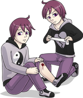 Ichigo and Nashi by AlkseeyaKC