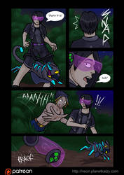 Neon Glow Page 4 by AlkseeyaKC