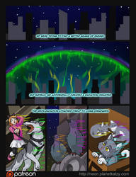 Neon Glow Page 01 by AlkseeyaKC