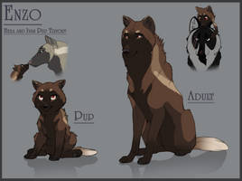 Hexa + Ivan Pup Adopt Tryout by Ink-Bruises