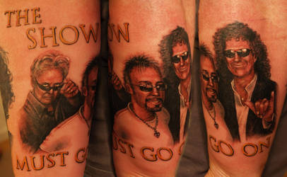 Queen Tattoo by ElectricLinda