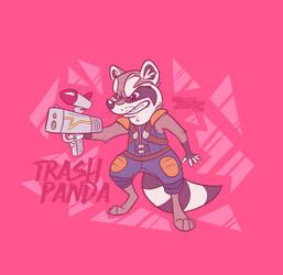 Trash Panda by PerfectlyDisastrous