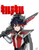 Ryuko kamen rider by ultimateEman