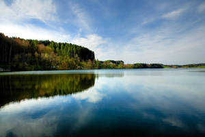 Lac de Bret by ricchy