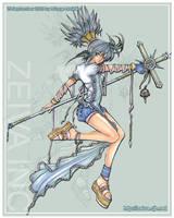 Maiden's Cross by zeiva