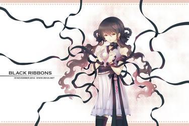 Black Ribbons by zeiva