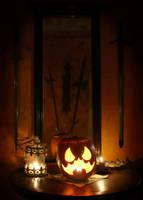 Scarecrow Pumpkin by Dr-TinyFox
