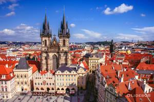 Roof of Prague II by olideb08