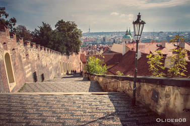 Prague - Castle's staircase by olideb08