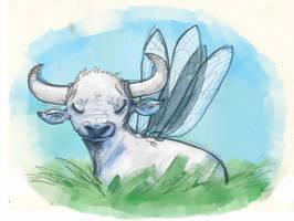 fairy bull by ReinardFox