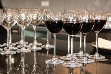 Wine Glasses by ChristophMaier
