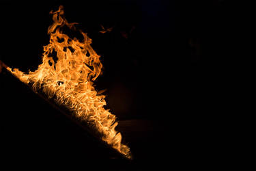 Flaming Sword by ChristophMaier