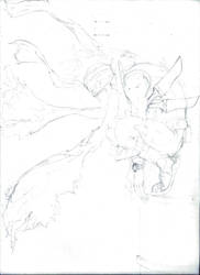 Sketch Hero Slain by RGeru