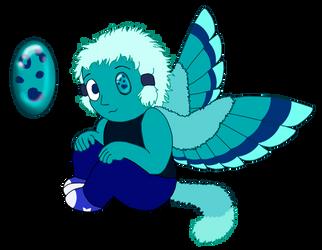 Custom OC Gemling Adopt: Chrysocolla by UmbraFoxPaws