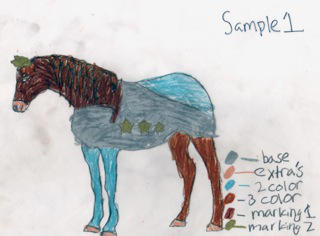 IYE Horse by LittleApple-Jack