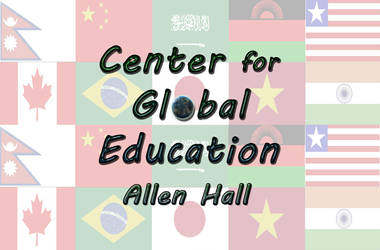 Global Education Logo by bottomofastairwell