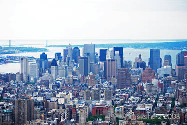 New York Skyscape by Enty