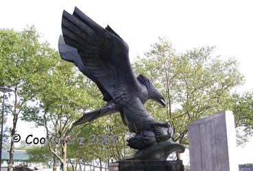 Eagle Memorial Battery Park by Enty
