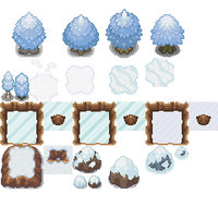 Tons of Tileset 5/10 - Cool Gaia Tiles by Phyromatical