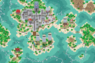 Tropimare City and Tropimare Coast by Phyromatical