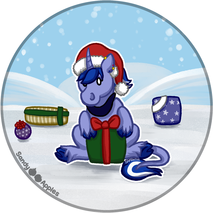 Presents - Squishie Cygnus Starlight by Sandy--Apples