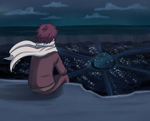 In The Night [Gaara Week 2019] by Sandy--Apples