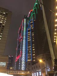 Hong Kong City Lights by kaester1