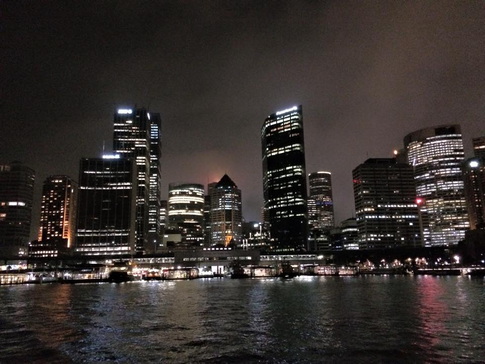 Midnight Skyline by kaester1