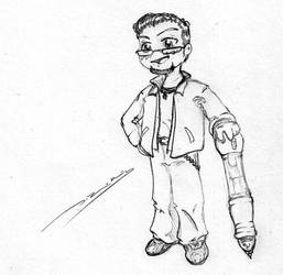 sorta chibi thing sketch by danolas