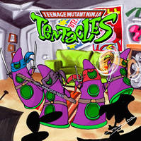 Teenage Mutant Ninja Tentacles by danolas