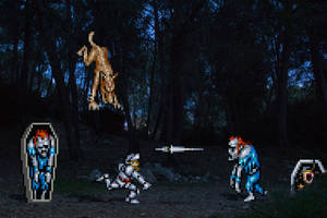 Real Bits - Super Ghouls'n Ghosts: Creepy Forest by VictorSauron