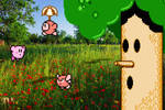 Real Bits - Kirby Adventure: Whispy Woods by VictorSauron