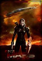 Mass Effect Female Shepard by FREEDUNHILL
