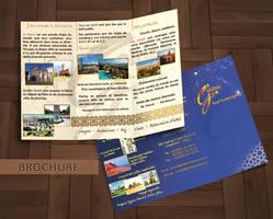 Travel agency brochure by Jadknight